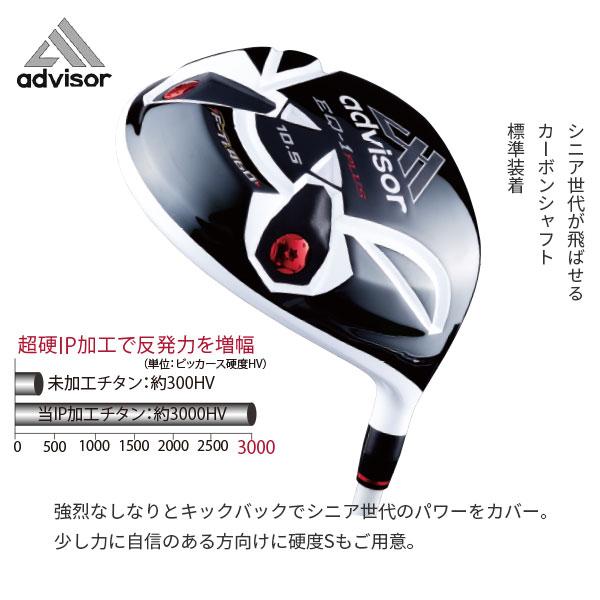 アドバイザーゴルフ EQ-1プラス 高反発ドライバー