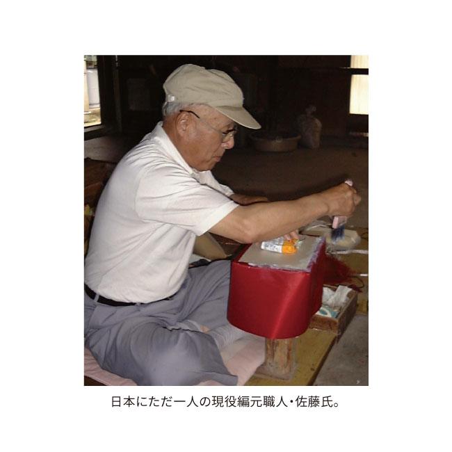 佐藤昭治氏の手作りソーイングバスケット