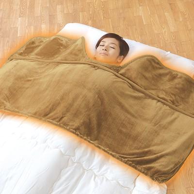 とろけ~る毛布のようなくり衿ふとん衿カバー