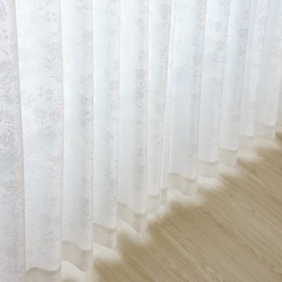 花粉キャッチ&遮熱ミラーレースカーテン
