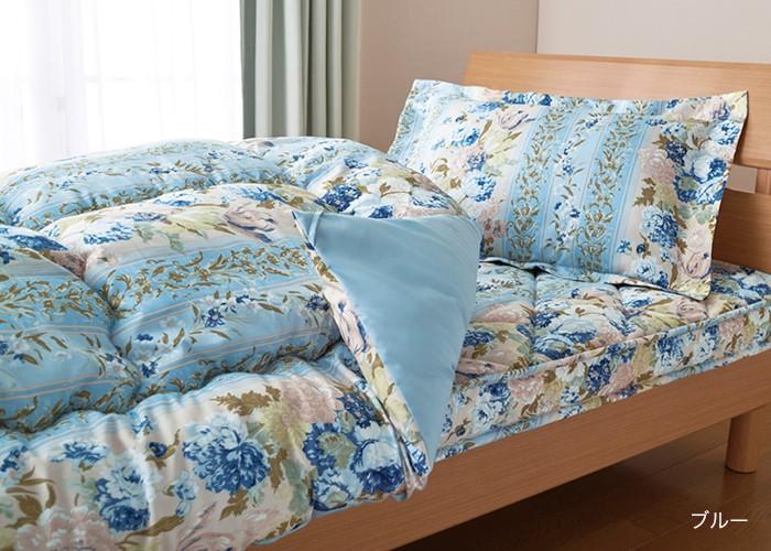 羊毛入り極厚敷布団付き寝具4点セット