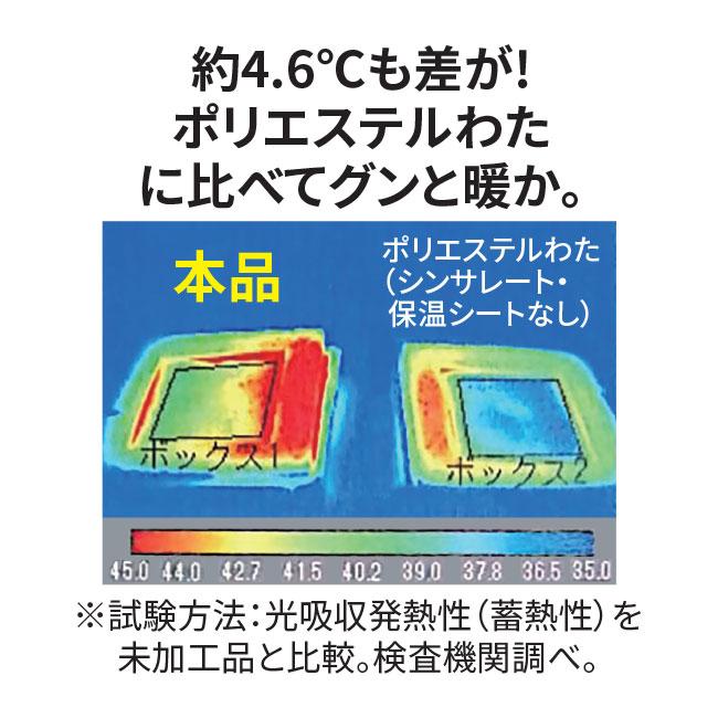 シンサレート入り暖か敷マット シングルサイズ2枚セット