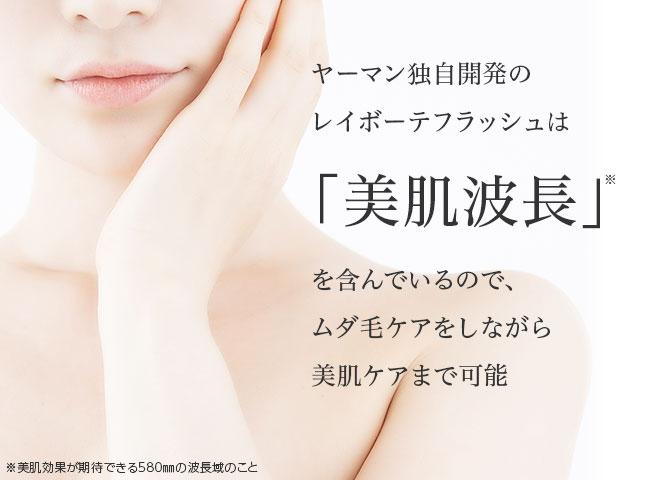 剃らないヒゲケア メンズ・レイボーテEX
