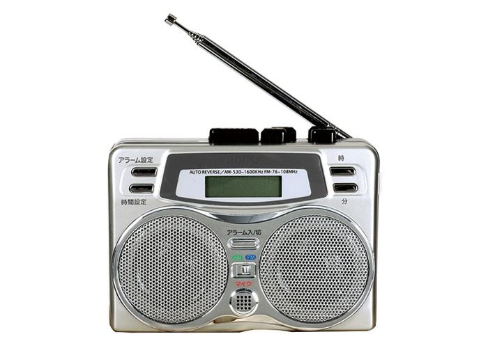 録音できる2スピーカーラジカセ