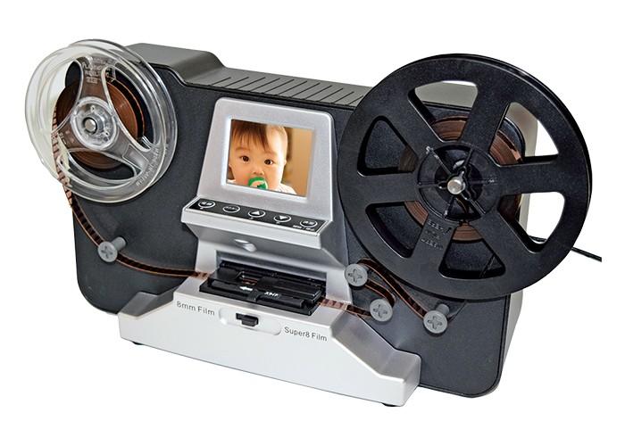 8mmフィルムを簡単にデジタル保存できるレコーダー
