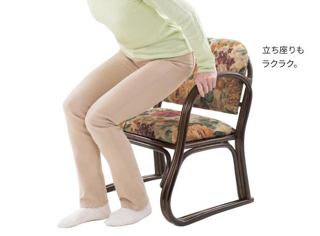籐らくらく座椅子