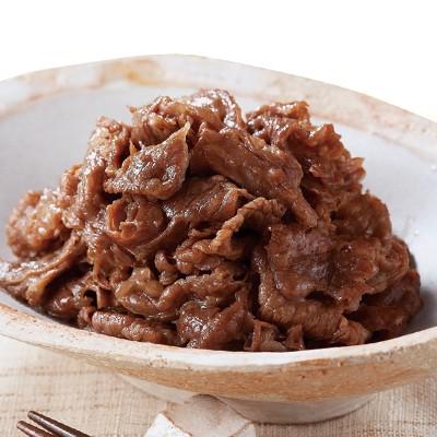 柿安 減塩牛肉しぐれ 80g×10袋セット