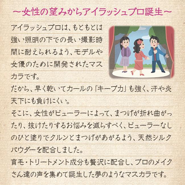 <天然シルクエキス配合マスカラ>アイラッシュPRO