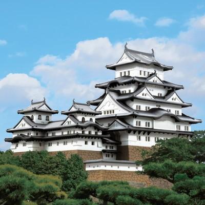 姫路城 1/350完成モデル