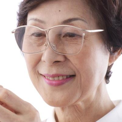 両手が使える眼鏡式ルーペ