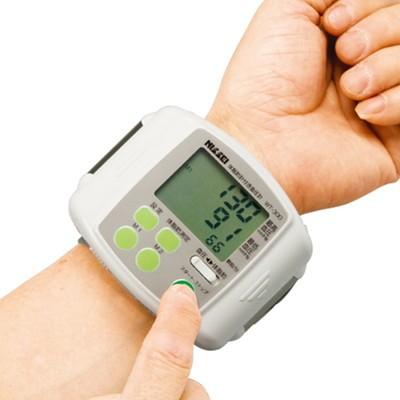 体脂肪も測れる手首式血圧計