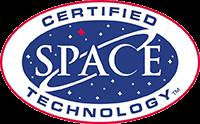 スペースファンデーション認定商品のロゴ