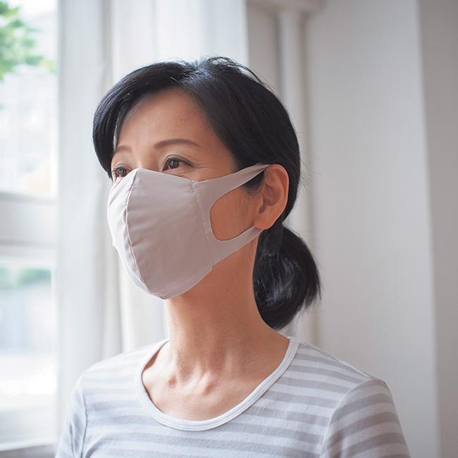 耳にやさしい!洗える布マスク 6枚セット>
