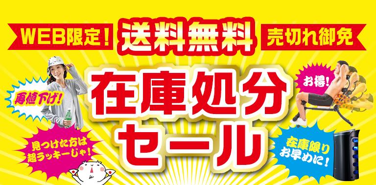 WEB限定!なくなり次第終了!日本直販 在庫処分セール